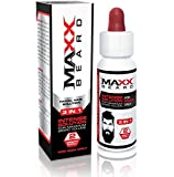 Maxx Beard - #1 Facial Hair Solution, Natural Solution for Maximum Beard Volume-2 Month Supply- 100...