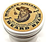 Honest Amish Beard Balm Leave-in Conditioner - All Natural -Vegan Friendly Organic Oils and Butters...