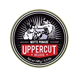 Uppercut Deluxe Matte Pomade Hair Styling Product For Men With A Medium Hold, No Shine Water Based...