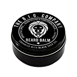 Beard Balm for Men – Cera moldeadora no grasa para barba de fijación media. Acondicionador...