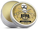 Premium Strong Moustache Wax (15ml) Unscented for styling twists,points & curls - The Beard and The...