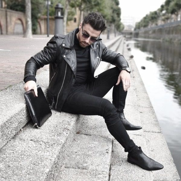 outfit negro completo