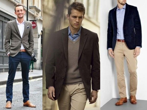 Hombres americana business casual
