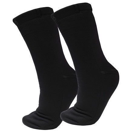 Calcetines negros protectores